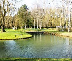Camping Pas de Calais avec étang pour pêche