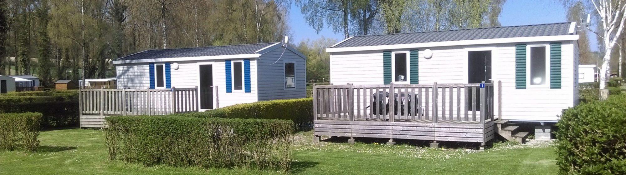 Location mobil-home dans un camping Pas de Calais