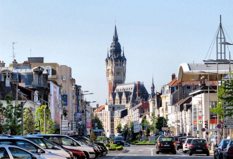 Ville de Calais dans le Pas de Calais