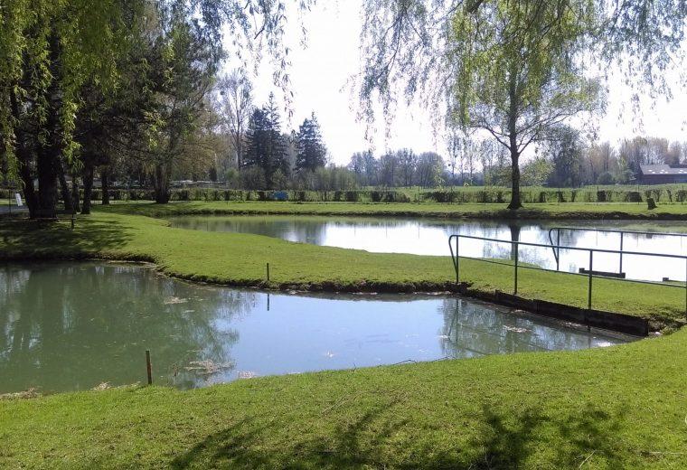 Camping Pas de Calais avec étang pour la pêche
